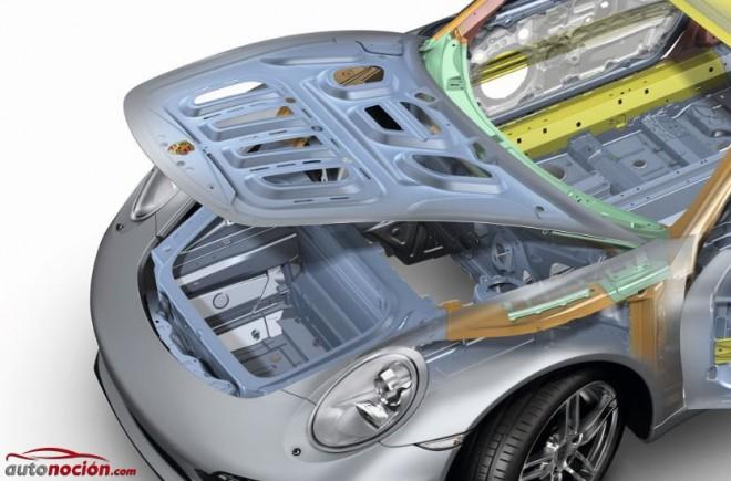 Porsche llama a revisión por un peligroso defecto en el soporte del anclaje del capó