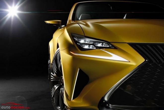 Lexus LF-C2 Concept: La variante cabrio del RC ya está en camino