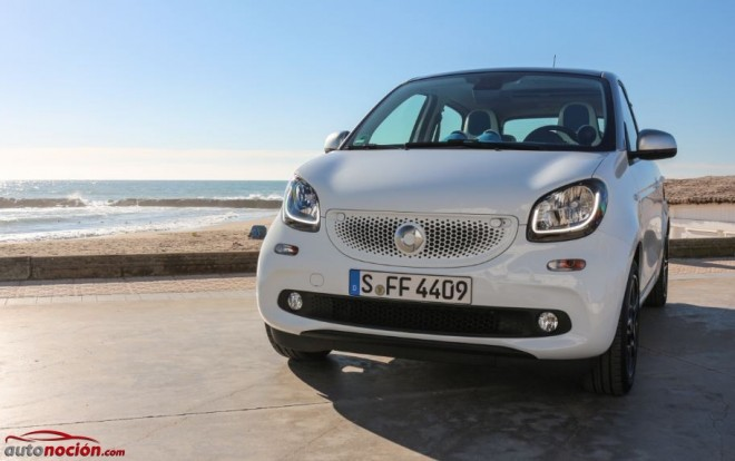 frontal smart forfour