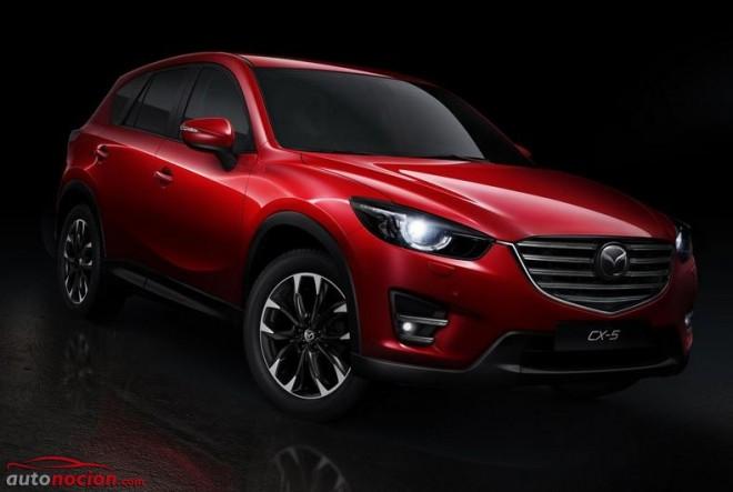 Mazda renueva el aspecto del CX-5 para adaptarlo al nuevo ADN: Estas son las novedades