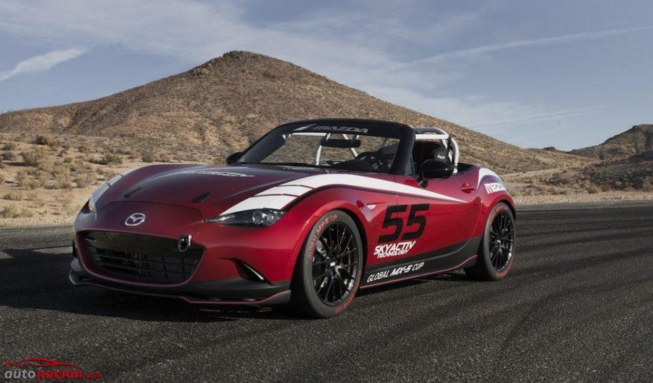 MX-5 Cup: Mazda estudia 392 combinaciones para ofrecer el roadster de carreras perfecto