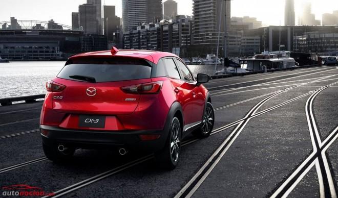Así es el nuevo Mazda CX-3: El SUV compacto nipón SKYACTIV