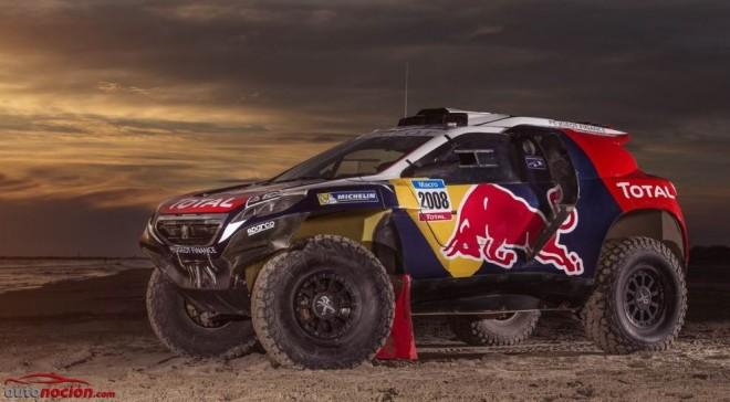 El Peugeot 2008 DKR se pone su traje de batalla definitivo para el Dakar: Faltan 48 días