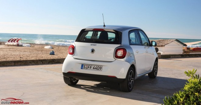 trasera smart forfour