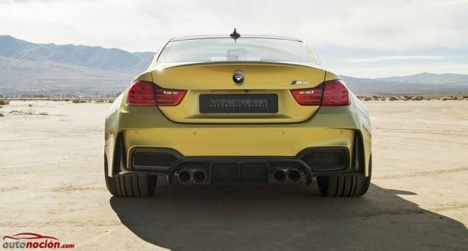Vorsteiner nos muestra el BMW M4 GTRS4 en detalle