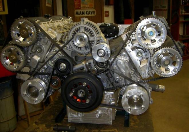 ¿Unir dos motores de Supra 2.5 litros 1JZ-GTE?: Así se crea un V12 de 5.0 litros bestial