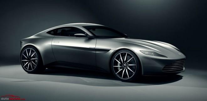 Aston Martin nos muestra el DB10, el nuevo coche Bond que debutará en Spectre