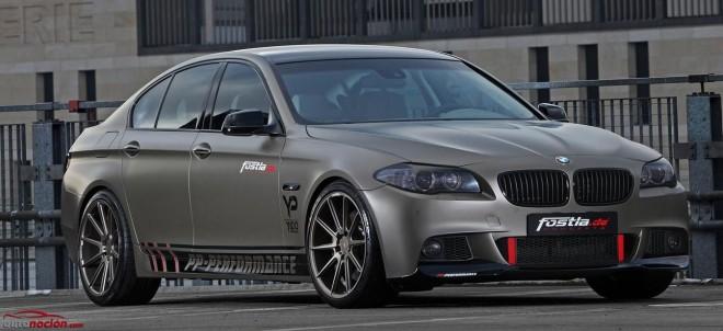 El BMW 550i de Fostla y PP-Performance: 570 cv y 800 Nm