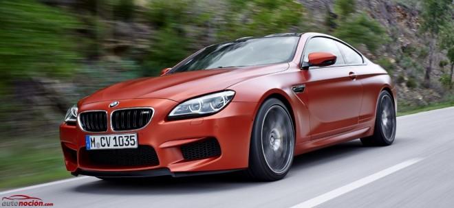 BMW actualiza su bestia: Pequeños cambios para el M6