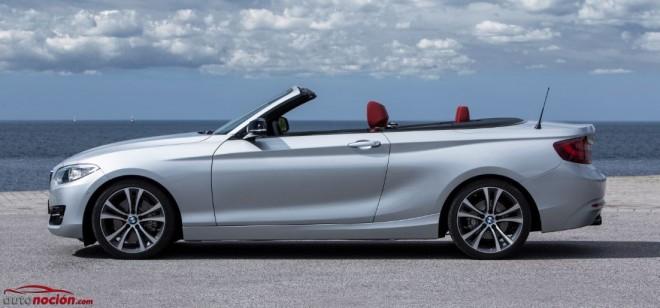 Ya conocemos los precios para el BMW Serie 2 Cabrio: Desde 38.500 euros