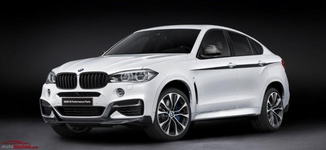Accesorios BMW M Performance para el BMW X6: Lo mejor de lo mejor