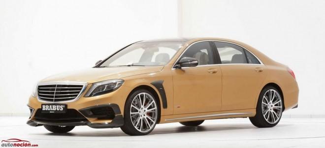 Lo que toca BRABUS se convierte en oro: Clase S 63 AMG, ahora con 850 cv y 1.450 Nm