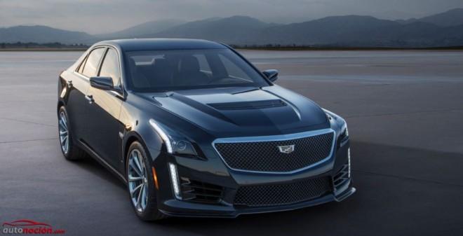 Nuevo Cadillac CTS-V: La berlina deportiva americana de 640 cv