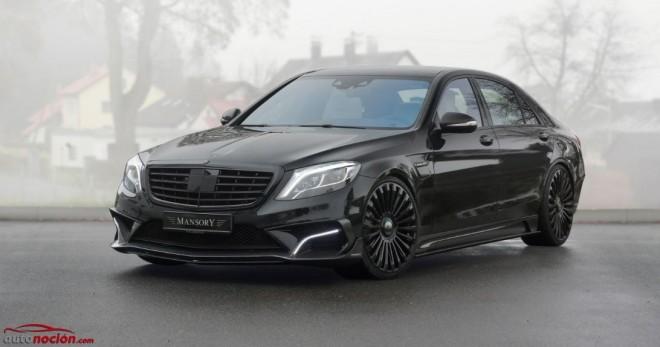 MANSORY le mete mano al Mercedes Clase S63 AMG: Hasta 1.000 cv y 1.400 Nm de par