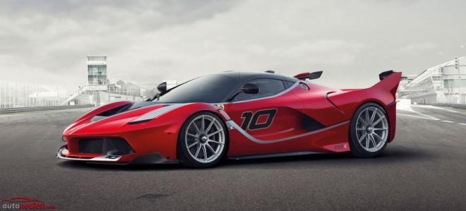 LaFerrari FXX K: La bestia libre de homologaciones contará con 1.050 cv enfocados para la pista