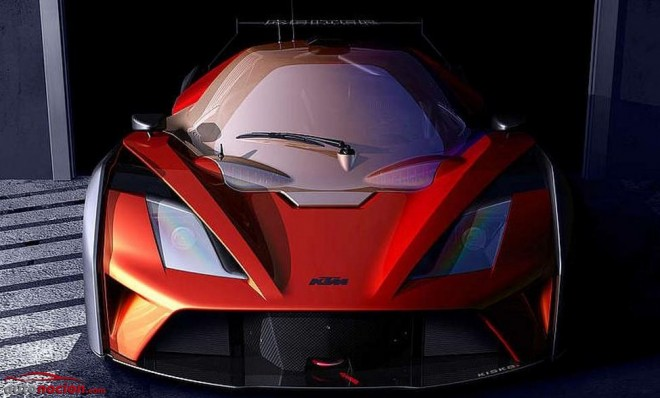 Primeros detalles sobre el KTM X-BOW GT4