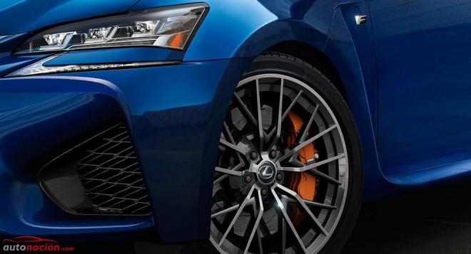 Lexus nos muestra las dos primeras imágenes de lo que parece ser el GS F