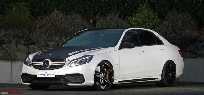 ¿Un Mercedes-Benz Clase E 63 AMG con 853 cv y 1300 Nm?: Así es la bestia de Posaidon