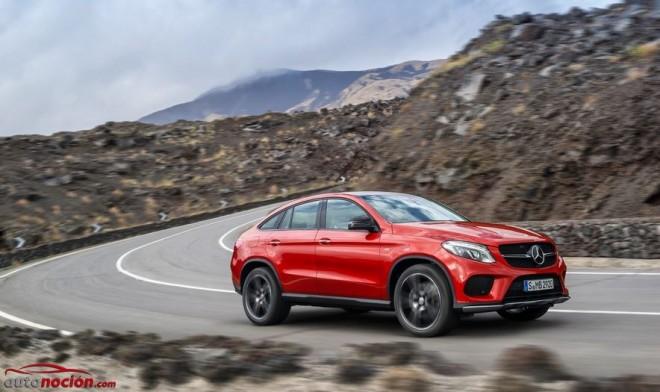 Nuevo Mercedes-Benz GLE Coupé: El Sports Activity Coupé con estrella