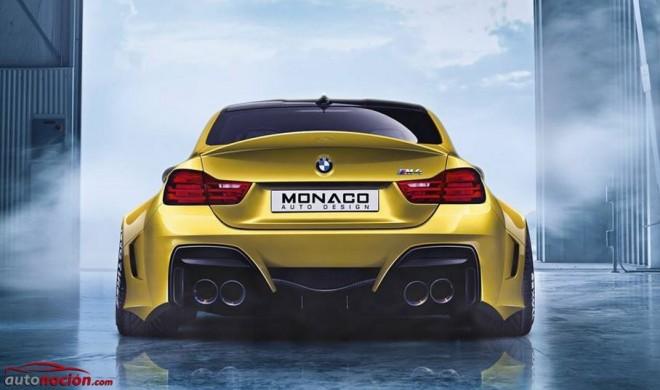 Así quedaría el BMW M4 Coupé según Monaco Auto Design: Simplemente radical…