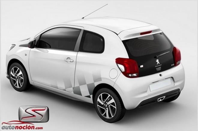 Peugeot ofrece una personalización racing para el 108: Peugeot 108 S