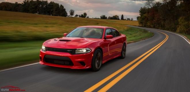 Dodge Charger SRT Hellcat: 717 cv, 881 Nm de par, 328 km/h y ahora, un consumo de 10.6 litros a los 100