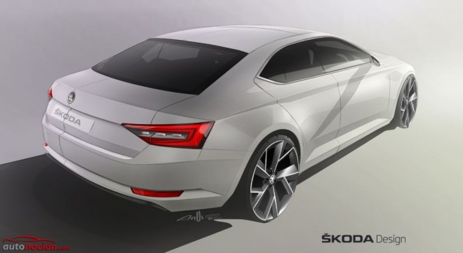 Nuevo Škoda Superb: A romper con lo visto hasta ahora