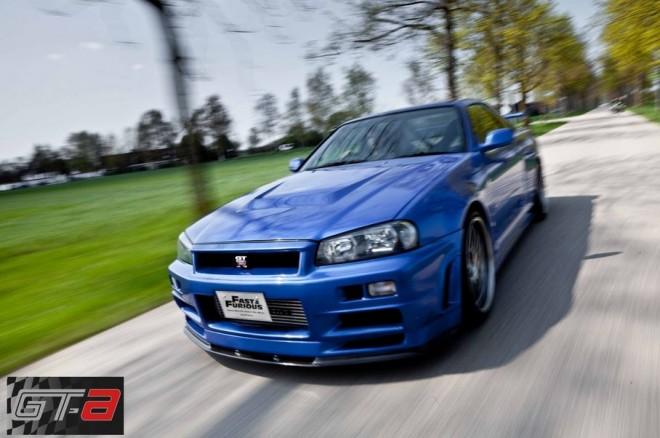 A la venta el Nissan Skyline GT-R R34 de 2009 de Fast & Furious 4