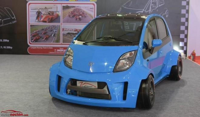 ¿Un Tata Nano con 230 cv?: Ja Motorsport le mete mano al coche más barato del mundo