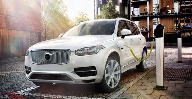 Volvo se suma a la moda Plug-In Hybrid en los SUV con su XC90 T8 de 296 kW