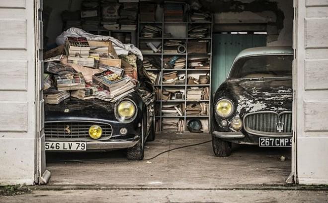 Interesante tesoro hallado en Francia: 60 vehículos clásicos, ahora a subasta