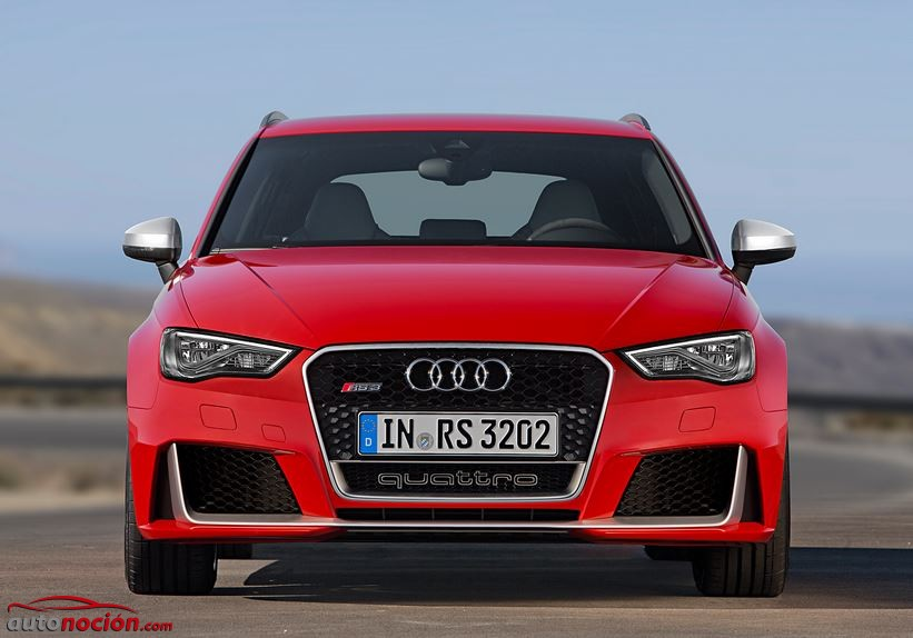 frontal audi rs3