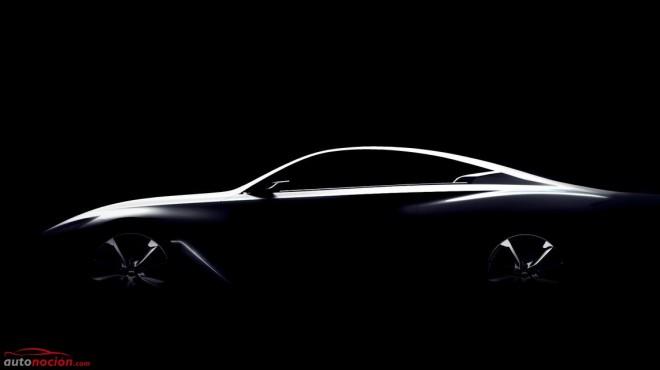 Infiniti nos muestra el primer teaser del Q60 Concept