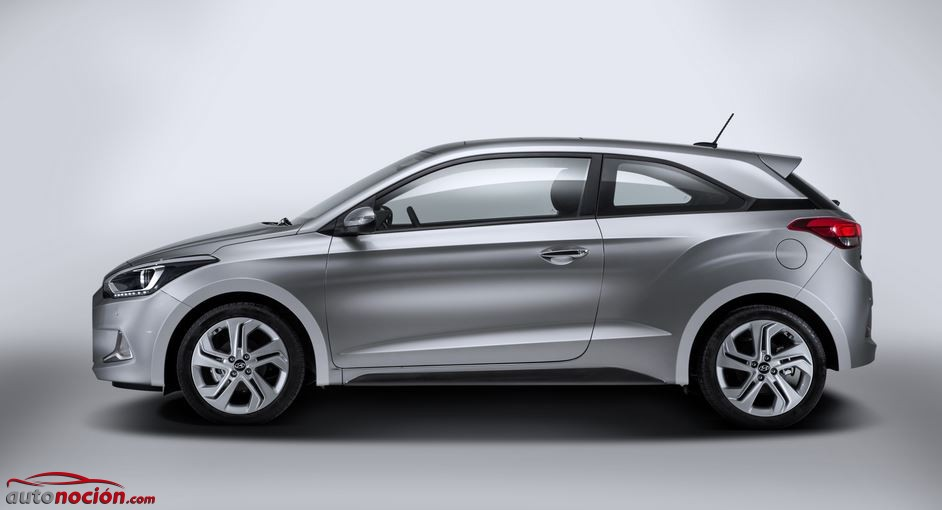 lateral hyundai i20 coupe