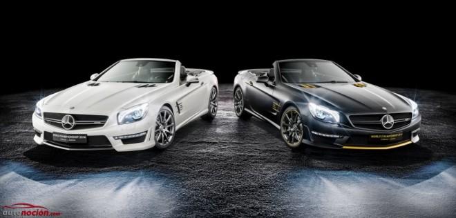 """Mercedes-Benz SL 63 AMG """"World Championship 2014 Collector's Edition"""": Compra la pareja por 629.510 euros"""