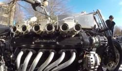 moto motor lamborghini