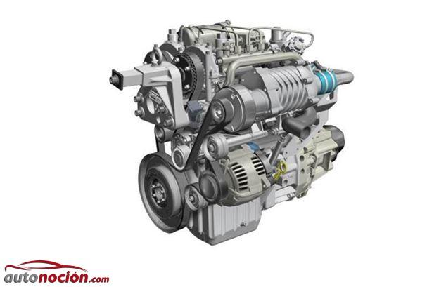 Renault proyecto POWERFUL: Motor turbodiésel de dos tiempos, bicilíndrico y 730 cc