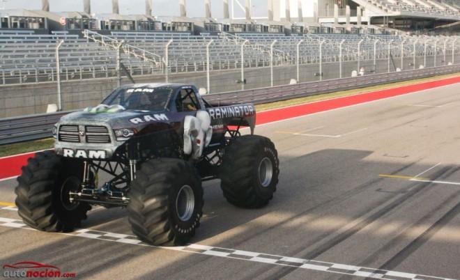 Raminator: El Monster Truck más rápido del planeta ya tiene su récord Guinness