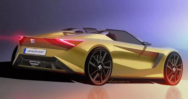¿Y si SEAT fabricase un rival para el Mazda MX-5?: Así podría llegar a ser un posible SEAT Roadster