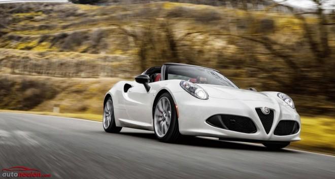 Alfa Romeo nos muestra el 4C Spider: Más atractivo y ahora, a cielo abierto