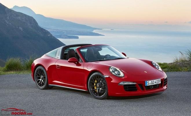 Porsche 911 Targa 4 GTS: El regalo por el 50º cumpleaños de la variante Targa cuenta con 430 cv