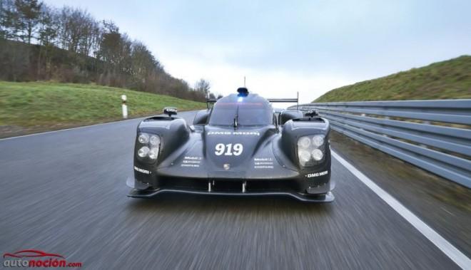 El nuevo Porsche 919 Hybrid se estrena en la pista de pruebas de Weissach
