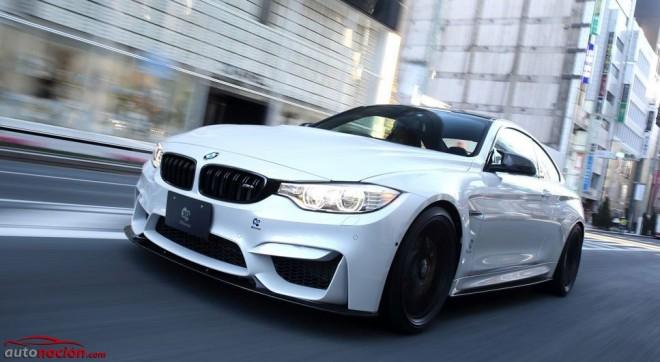 BMW M4 por 3D Desing: Mejoras estéticas y mecánica de serie