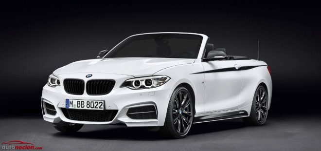 Nuevos accesorios M Performance para el BMW Serie 2 Cabrio