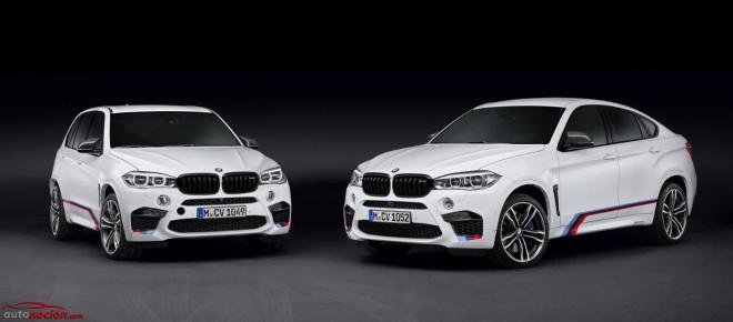 BMW X5M y X6M: Ahora puedes hacerlos más deportivos gracias al catálogo de M Performance Parts