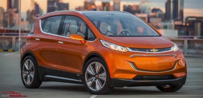 Chevrolet Bolt EV: El concept 100% eléctrico con pajarita que seguiría los pasos del BMW i3