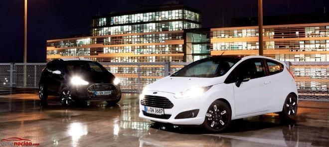 Nuevas ediones «Black» y «White» para el Ford Fiesta y el Ford Ka