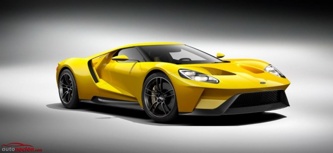 Ford GT Amarillo