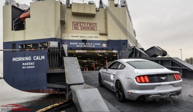 El Mustang está de caminio a Europa: Conoce todos los detalles y especificaciones técnicas del modelo