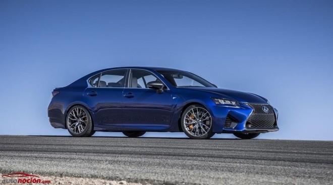 Lexus GS F: Puro músculo japonés con un V8 de 5.0 litros bajo el capó